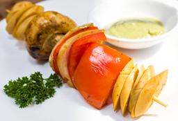 Minipinchos Vegetarianos x2
