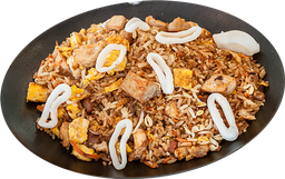 Khao pad gung especial