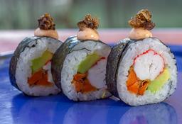 2x1 (tempura skin) + Sushi California Dinamita (20 Bocados)