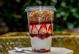 Parfait Fresas y Chocolate