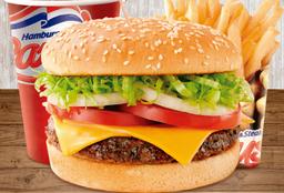 Combo Hamburguesa  Americano