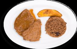 Carne Guisada + Acompañantes