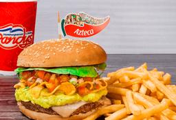 Combo Hamburguesa Azteca