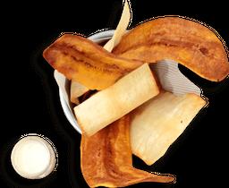 Chips de Plátano y Yuca