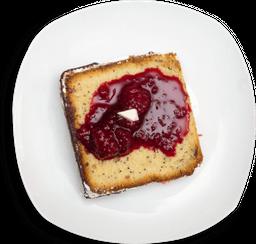 🍰Torta de amapola con dulce de frutos rojos