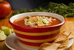 Sopa de Tortilla Vegetariana