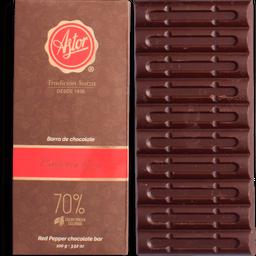 Barra de Chocolate Pimienta Roja