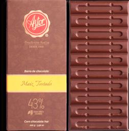 Barra de Chocolate Maíz Tostado