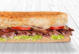 Sándwich de Cerdo con Tocineta