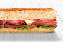 Sándwich de Costillas BBQ
