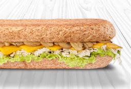 Sándwich de Pollo con Champiñón