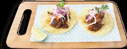 Tacos Costillas BBQ x2 Unidades