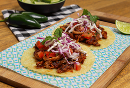 Tacos Costillas BBQ