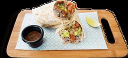 Súper Burrito Carnitas