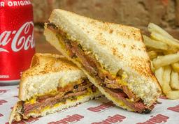 BBQ Pastrami Sandwich