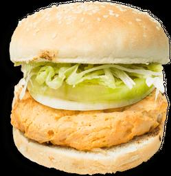 🍔 Hamburguesa De Pollo Con Todo
