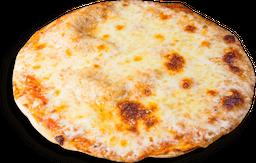 Pizza jamón y queso mediana