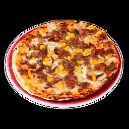 Pizza típica grande