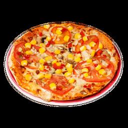 Pizza Vegetariana Personal (4 Porciones)