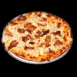 Pizza Pollo -Tocineta ranch Personal (4 Porciones)