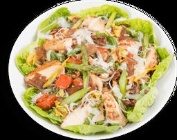 🥗 Ensalada de Vegetales Asados con Pollo