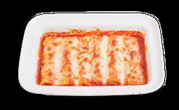 Cannelloni Ricotta, Espinaca, Salsa Napolitana