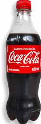Gaseosa Coca Cola de 600 ml