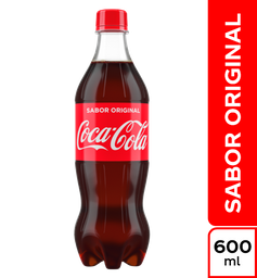 Gaseosa Coca-Cola de 600 Ml
