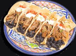 Tacos de Tinga de Carne