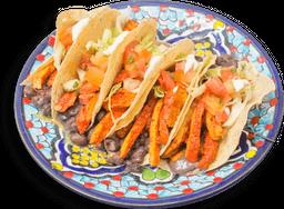 Tacos de Pollo al Pastor
