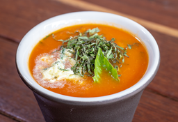 Sopa De Tomate Orgánico