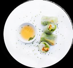 Rollo Vietnamita Vegetariano