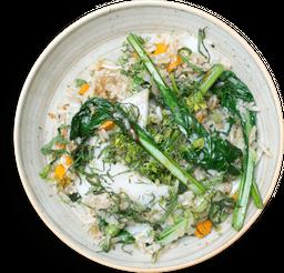 Arroz al Wok Vegetariano