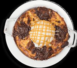 Pudin de Pan con Chocolate
