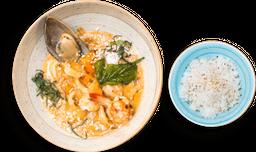 Curry Rojo de Mariscos