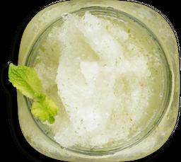 Limonada de Matcha con Yerbabuena