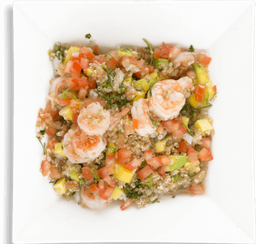Ensalada Quinoa y Camarón