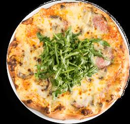 Pizza salami o chorizo español