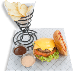 Hamburguesa Rappi Cheese Burger