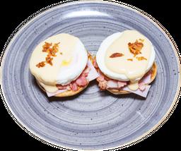 Huevos Benedictino con Espinaca