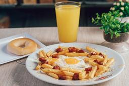 Huevos al Nido + Producto de queso + Bebida
