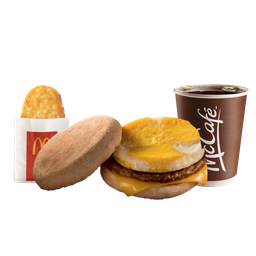 Combo Egg McMuffin™ con Salchicha y Hash Brown™