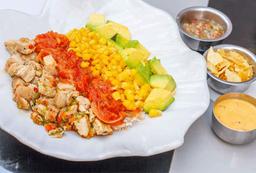 Pollo Asado Bowl + Gaseosa