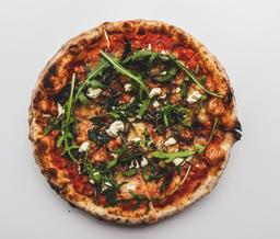 Pizza de Cebollas Caramelizadas