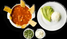 Sopa de Tortilla Mexicana