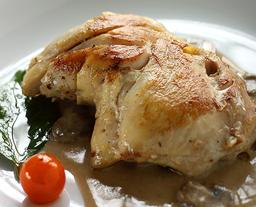 Pollo al Vino en Salsa de Champiñones