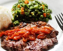 Beefsteak A La Criolla