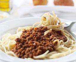 Spaguetti con Pollo o a la  Bolognesa