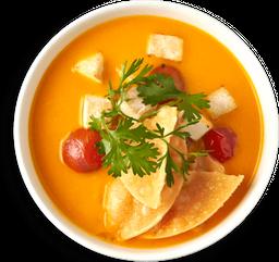 Sopa de Ahuyama y Leche de Coco