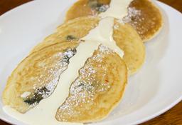 Pancakes Sour Cream y Tocineta Crunch
